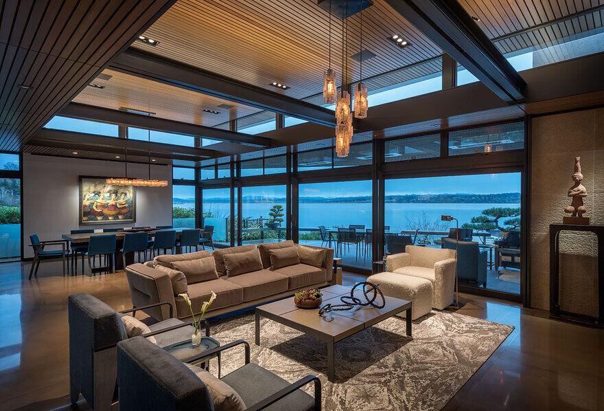 living room, Seattle / Stuart Silk Architects