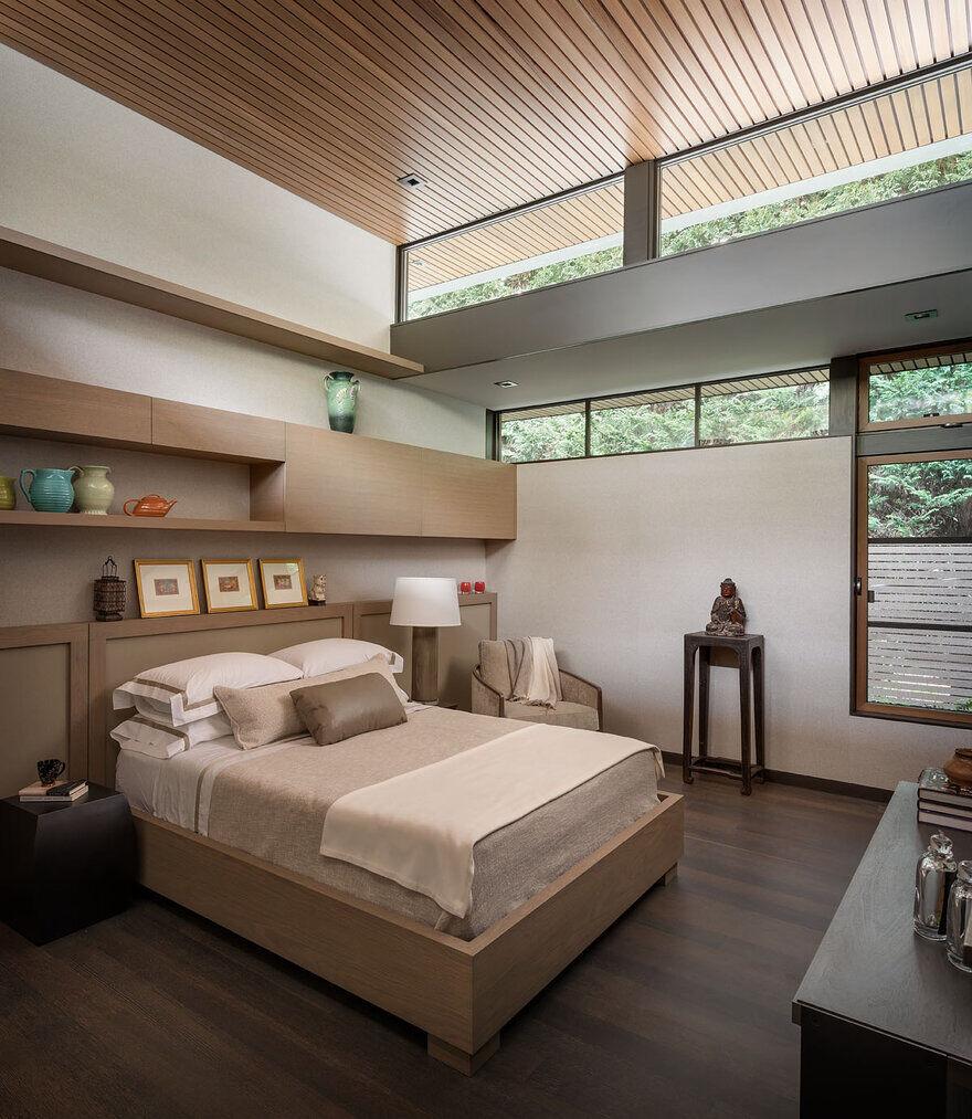 bedroom, Seattle / Stuart Silk Architects