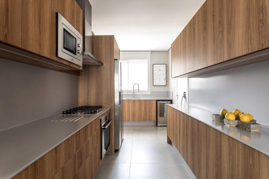 kitchen, Curitiba, Brazil / Giuliano Marchiorato Arquitetos