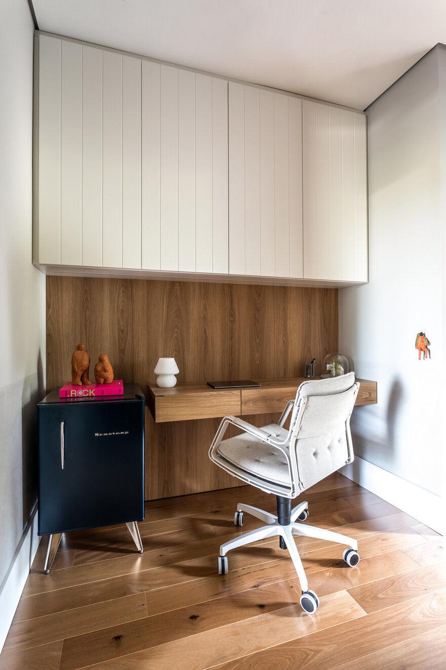 home office, Curitiba, Brazil / Giuliano Marchiorato Arquitetos