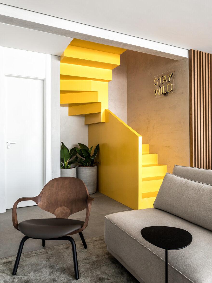 staircase, Curitiba, Brazil / Giuliano Marchiorato Arquitetos