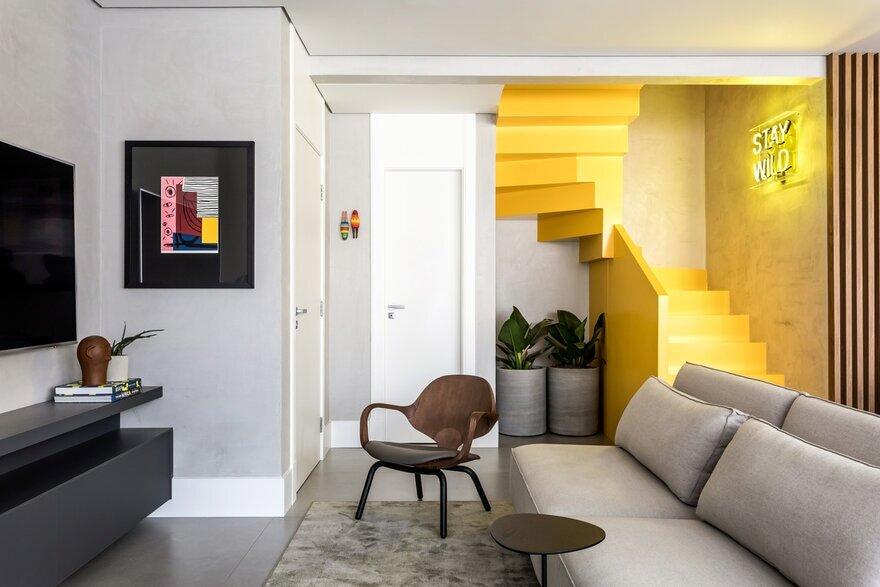 Kite Apartment, Curitiba, Brazil / Giuliano Marchiorato Arquitetos