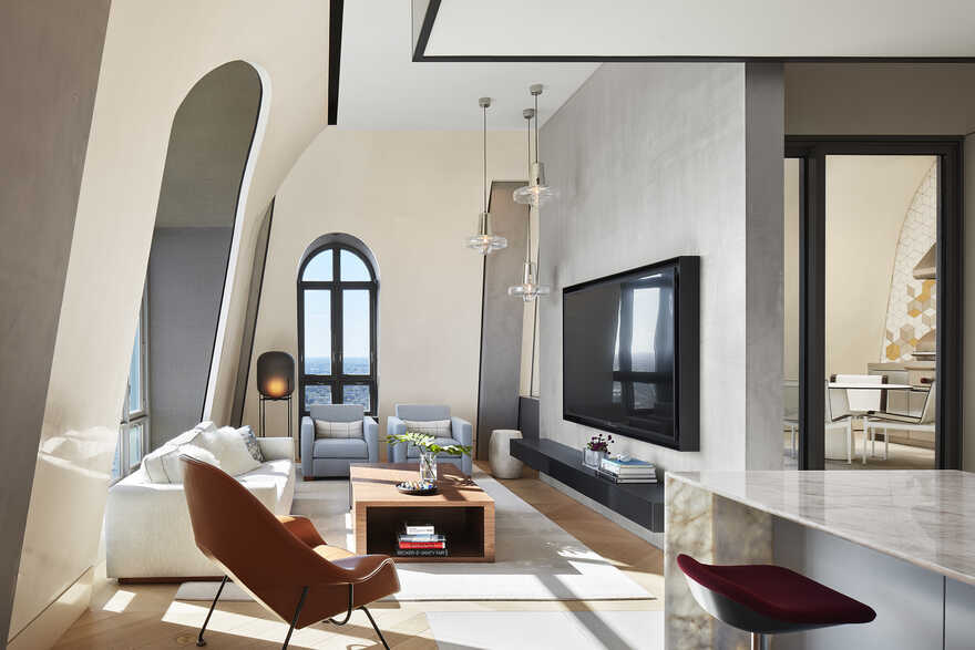 living room / Wheeler Kearns Architects