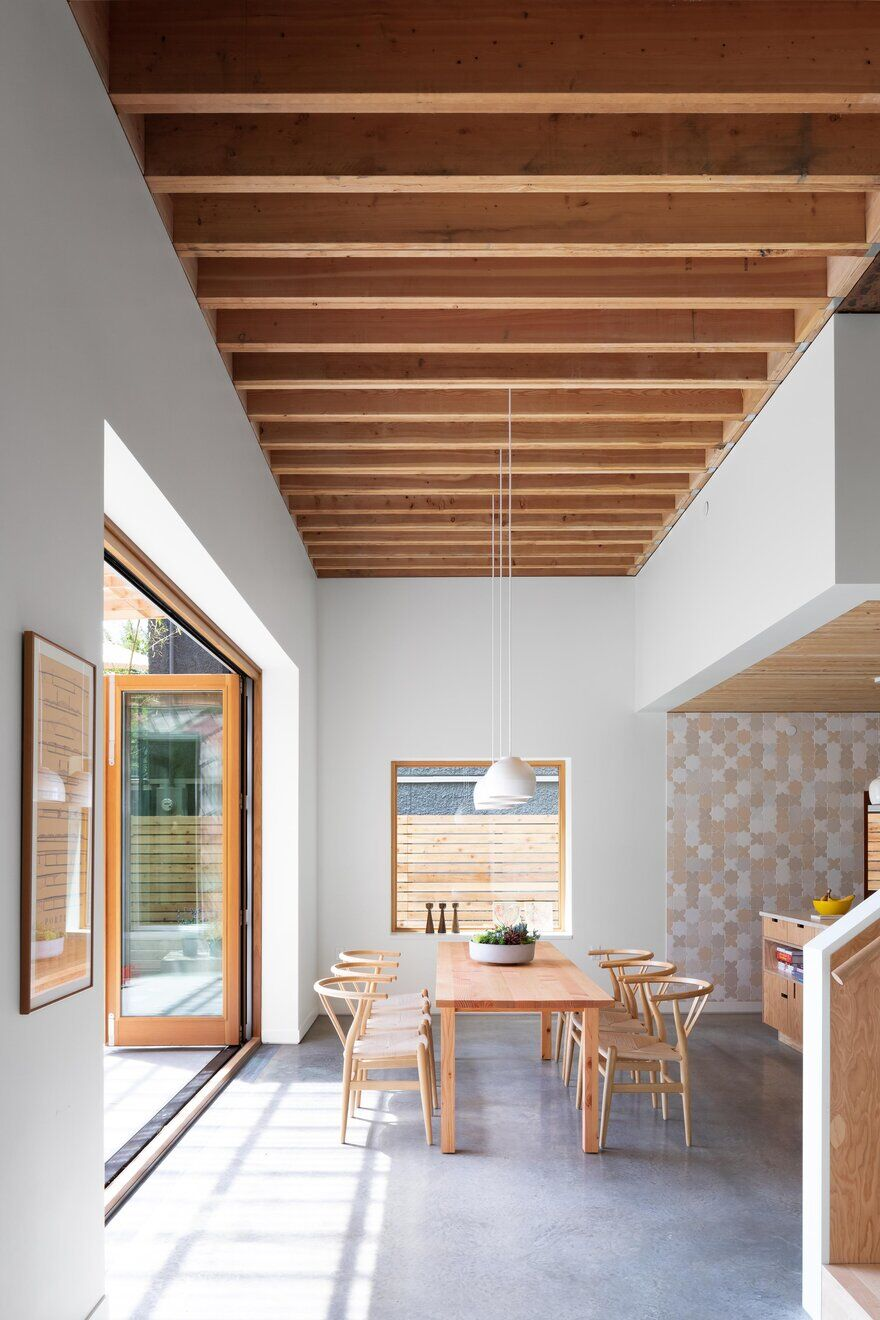 dining room, Measured Architecture