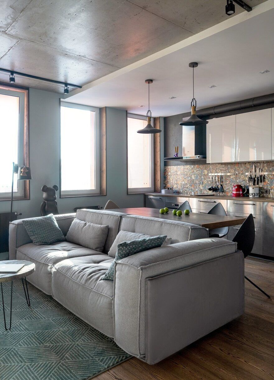 interior design / Designers Pavel and Svetlana Alekseeva