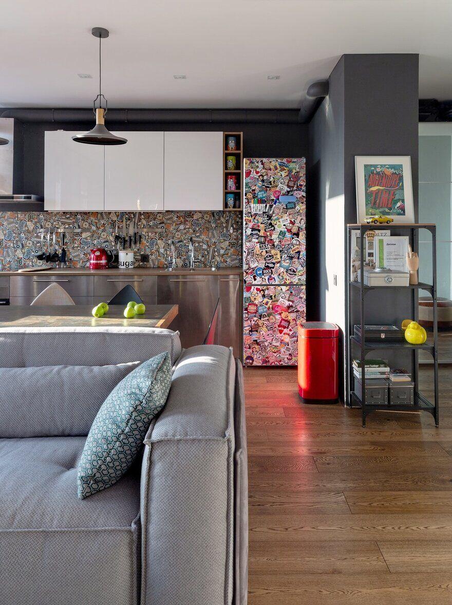 Our Apartment / Designers Pavel and Svetlana Alekseeva