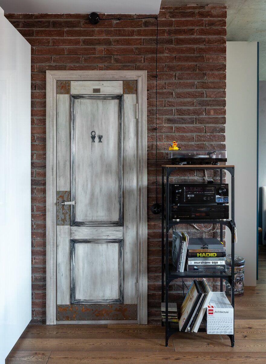 vintage door / Designers Pavel and Svetlana Alekseeva