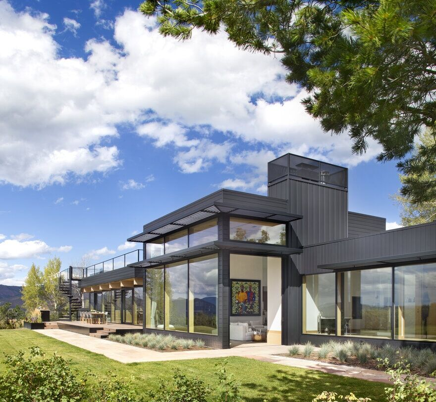 Aspen Ridge House by Rowland+Broughton