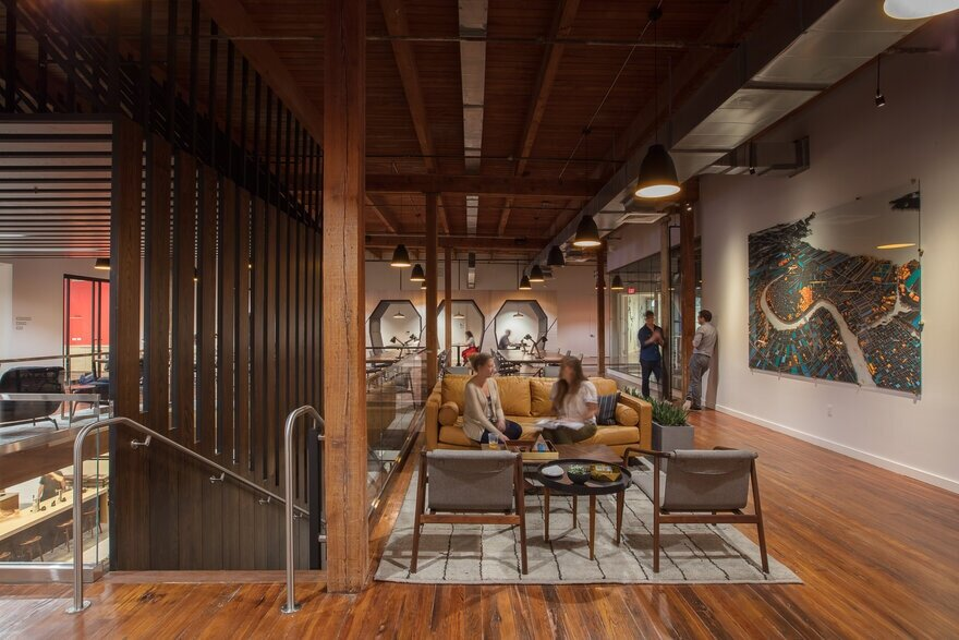 co-working development, EskewDumezRipple, New Orleans
