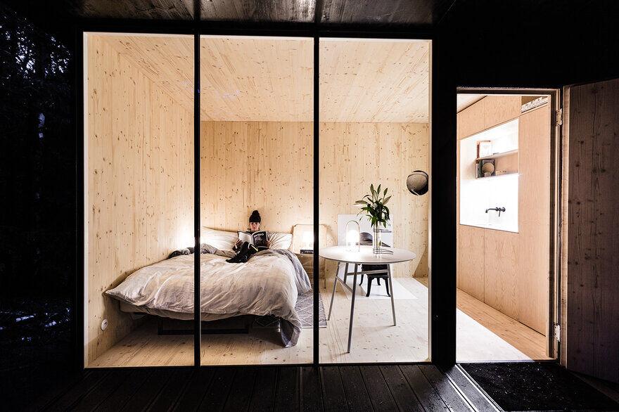 bedroom, kitchen, by DDAANN Studio
