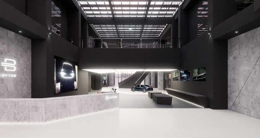 Byton Production Base Office