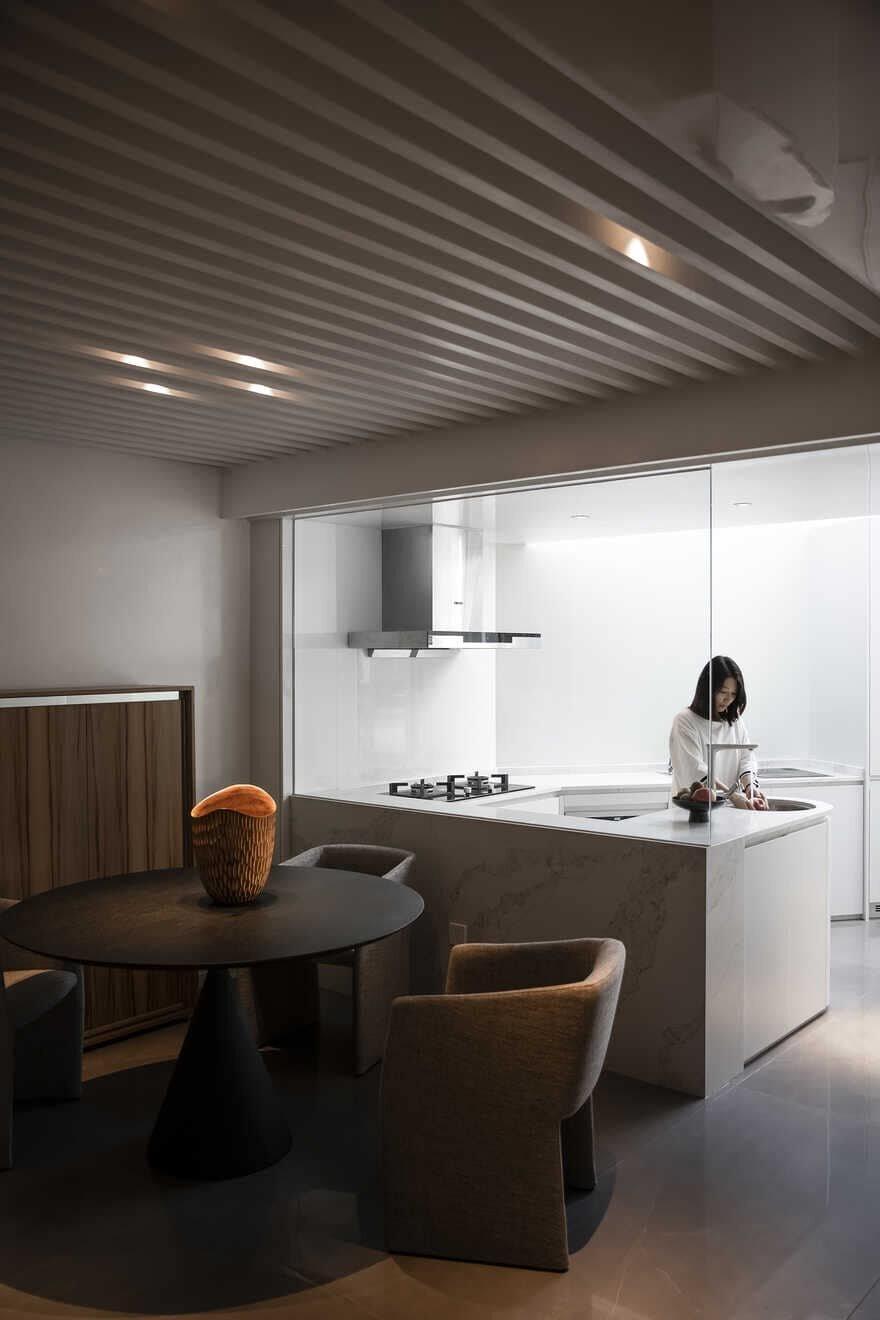 dining room, China - Jingu Phoenix Space Planning Organization