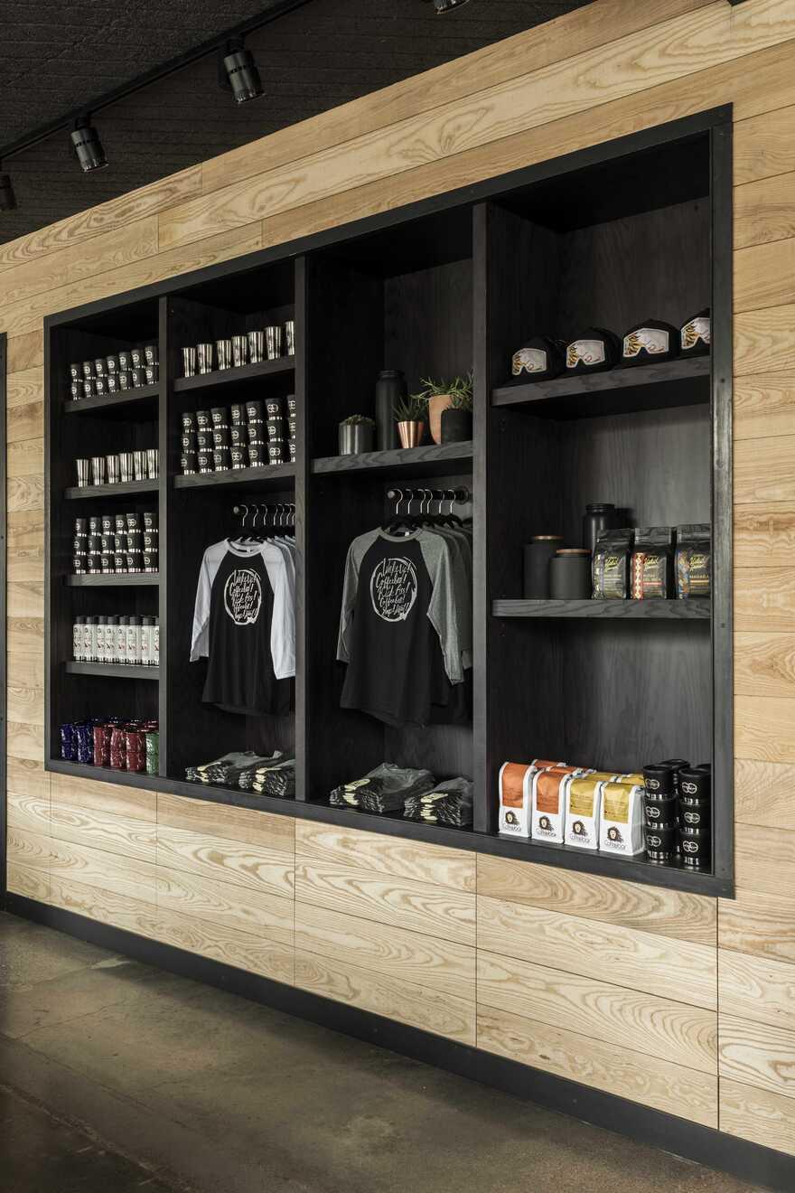 Coffeebar Menlo Park, California / Walker Warner Architects and Nicole Hollis