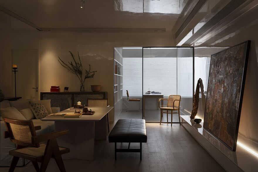 living room, Shantou, China - Jingu Phoenix Space Planning Organization