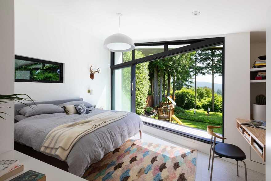 bedroom, Measured Architecture