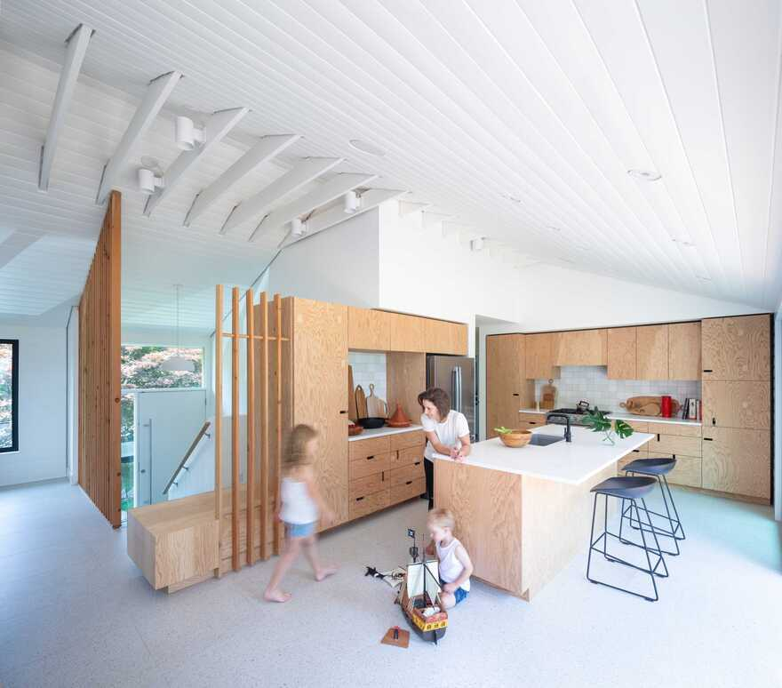 kitchen, Graft2 House, Measured Architecture