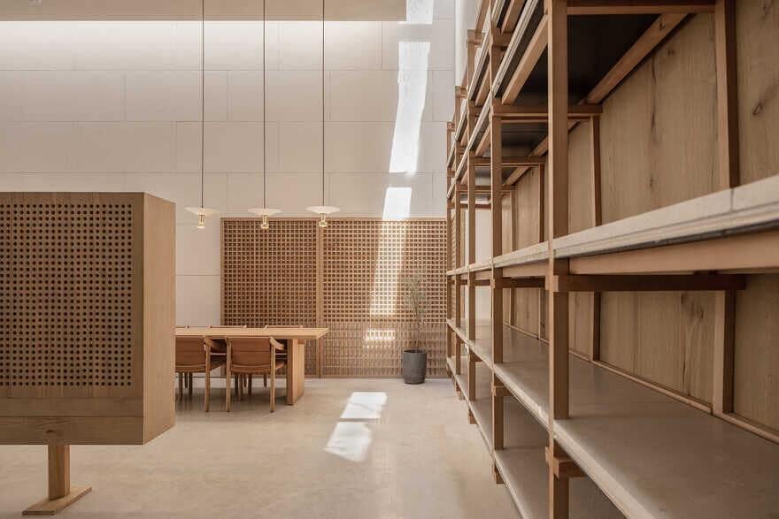 reading area, Xiamen, China / Waterfrom Design