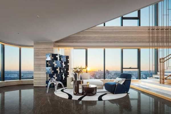 One Sanlitun Fendi Deluxe Apartment / Cheng Chung Design