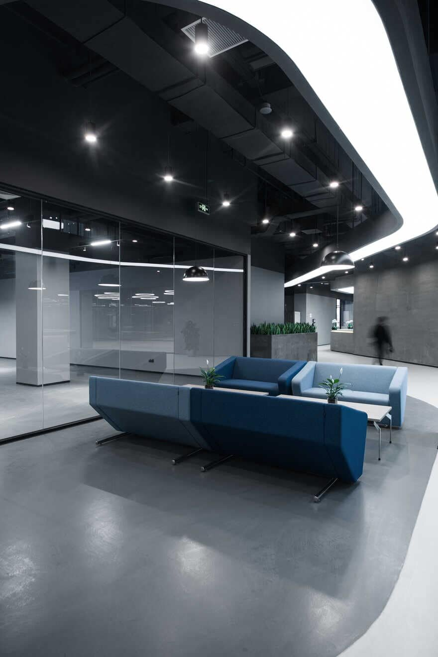 interiors, administrative building, inDeco