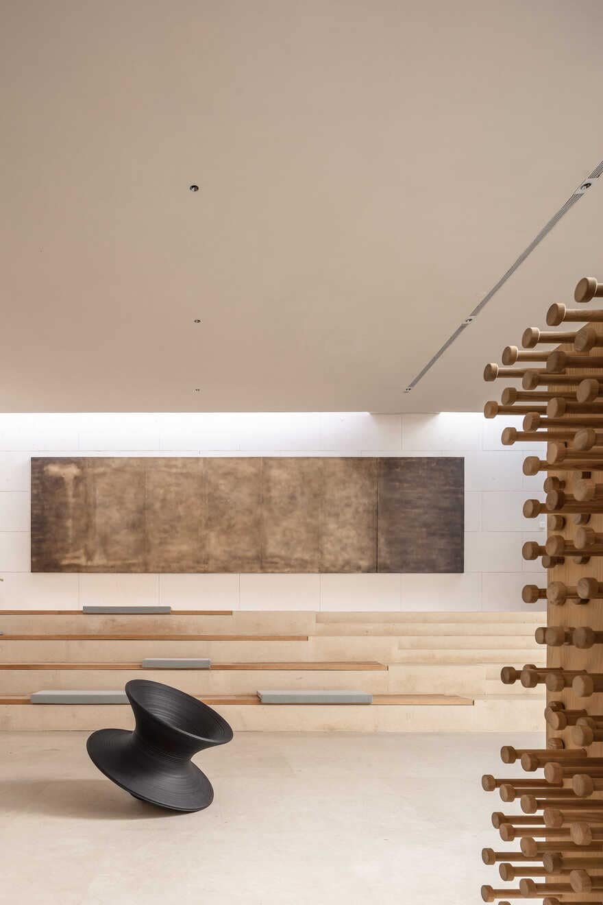 lecture hall, Xiamen, China / Waterfrom Design