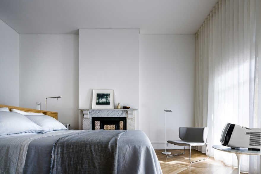 bedroom / Renato D'Ettorre Architects