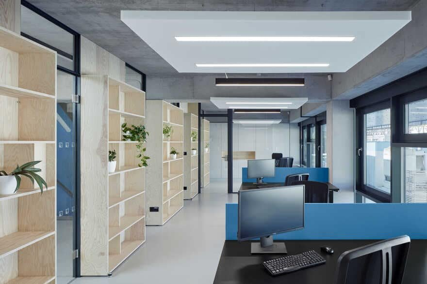 office space, Ellement Architects