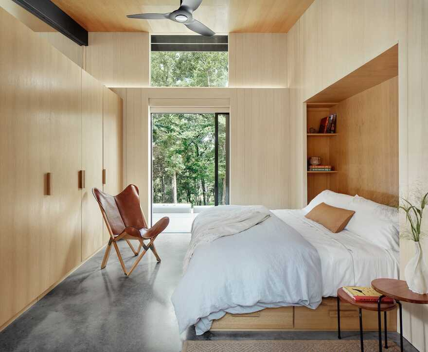 bedroom, Lake Flato Architects