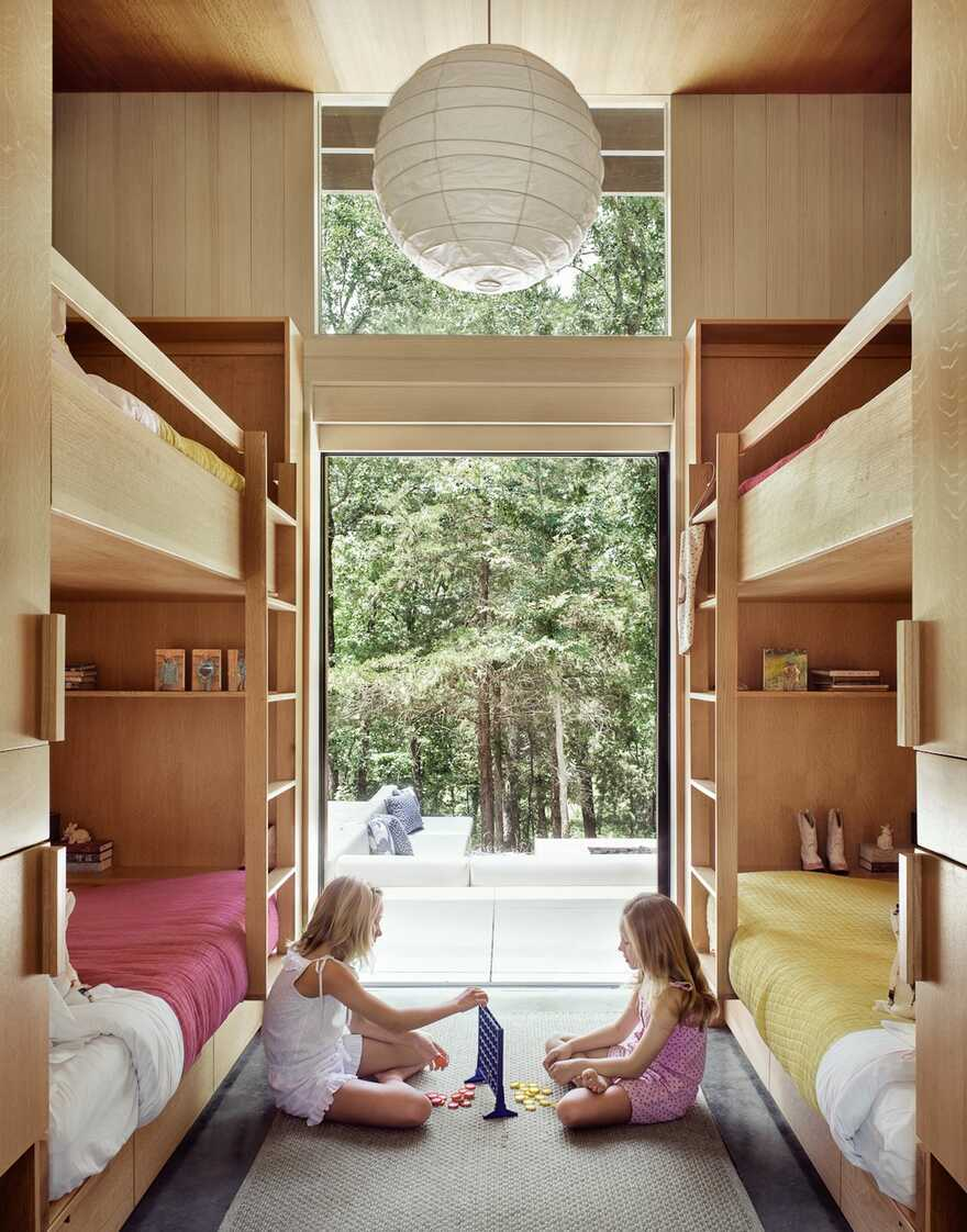 kids bedroom, Lake Flato Architects