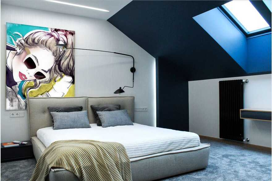 bedroom / Designers Pavel and Svetlana Alekseeva