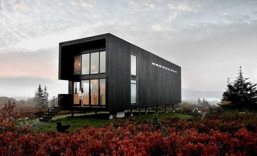 Back Bay Studio, Nova Scotia / Peter Braithwaite Studio