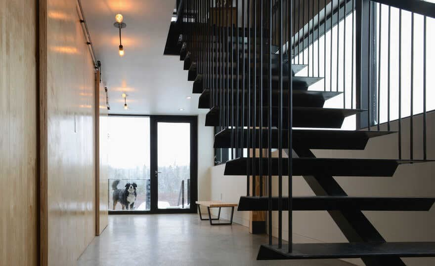 staircase, Nova Scotia / Peter Braithwaite Studio