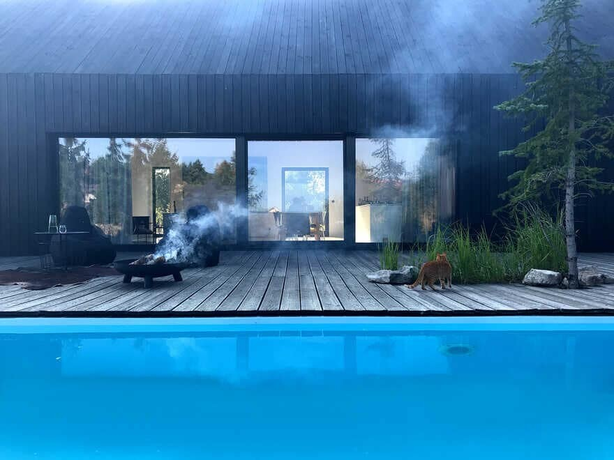 terrace, Silesia, Poland / Gornik Architects
