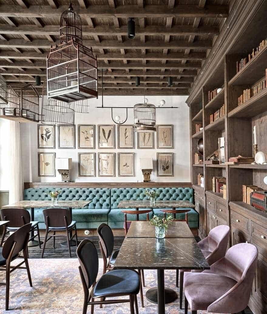 hotel interior, Spain / OHLAB
