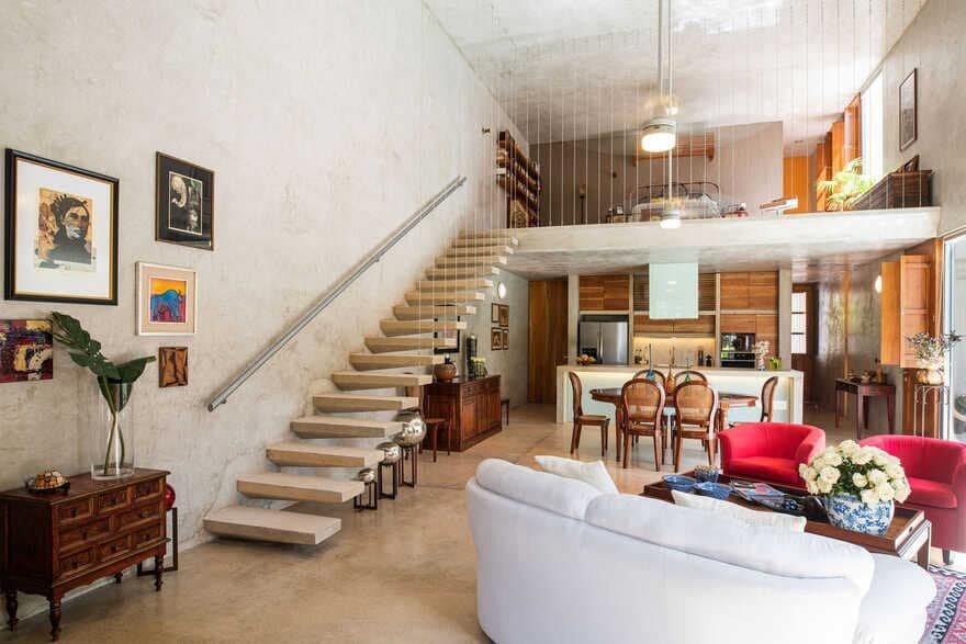living room / TACO Taller de Arquitectura Contextual