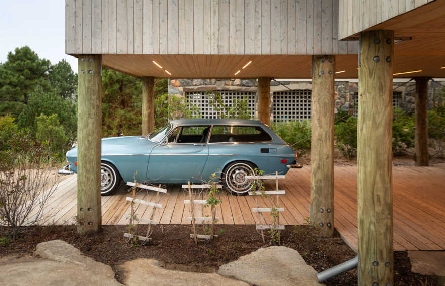 Coastal Modern House - In the Dunes / Caleb Johnson Studio