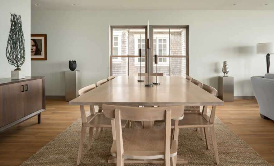 dining room, In the Dunes / Caleb Johnson Studio