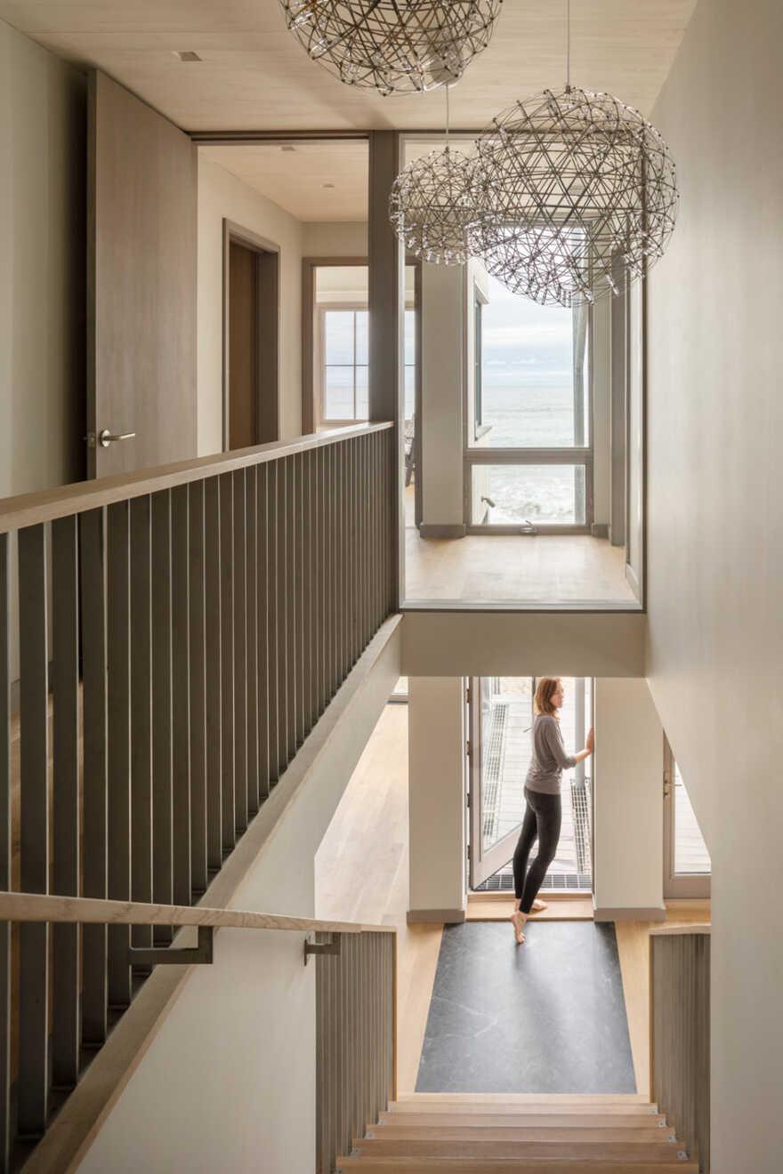 staircase, In the Dunes / Caleb Johnson Studio