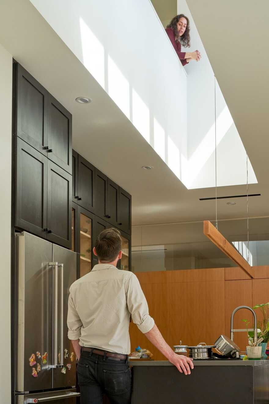 kitchen, Austin / Murray Legge Architecture