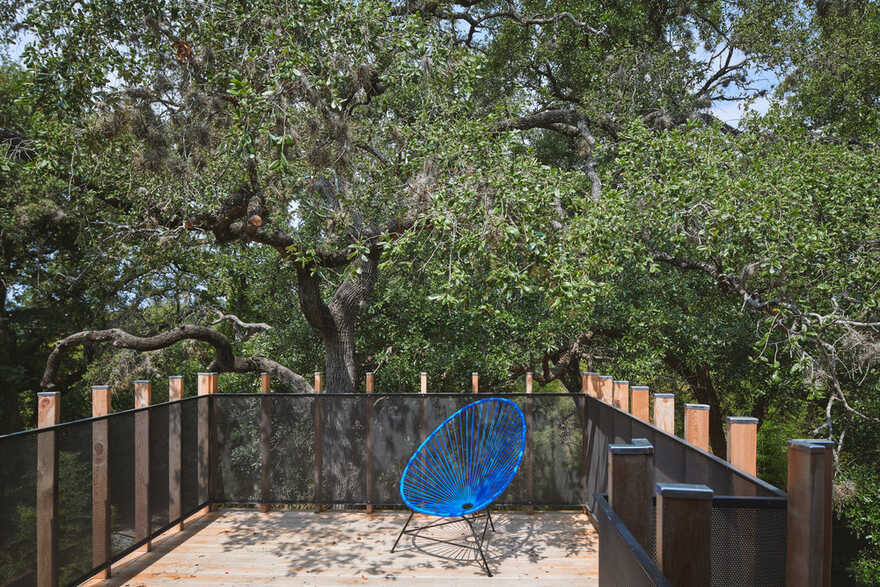 terrace, Austin / Murray Legge Architecture