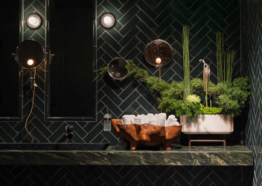 Luxurious New Bar in Seattle Designed by Graham Baba Architects