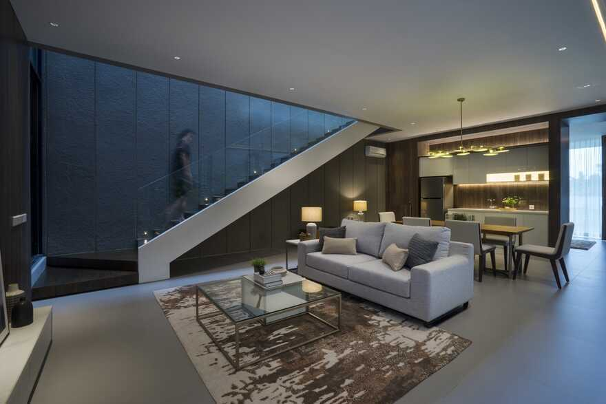 living room, Surabaya / Simple Projects Architecture