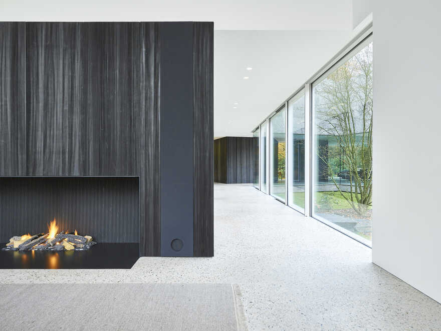 fireplace, Antwerp / DDM Architectuur