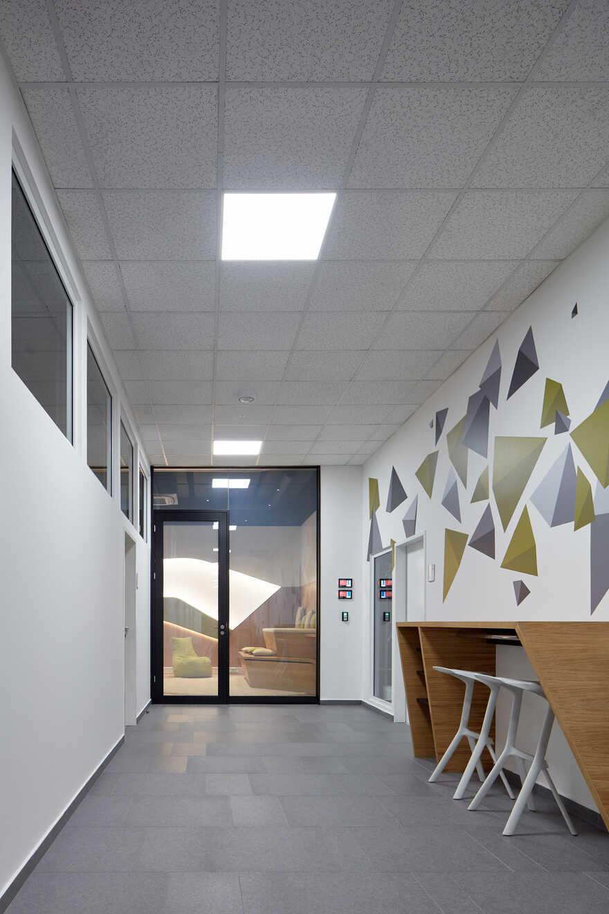 Innovative Workspace for Department G, ŠKODA AUTO Mladá Boleslav
