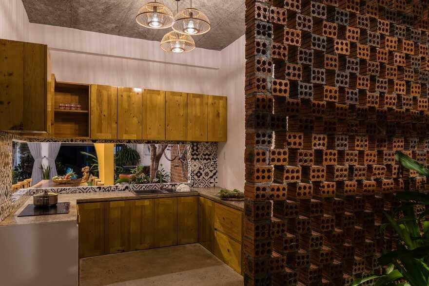 kitchen, Quang Nam, Viet Nam / K.A.N Studio