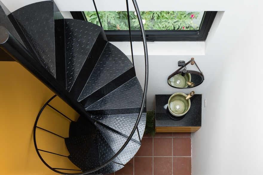 steel stair, Quang Nam, Viet Nam / K.A.N Studio