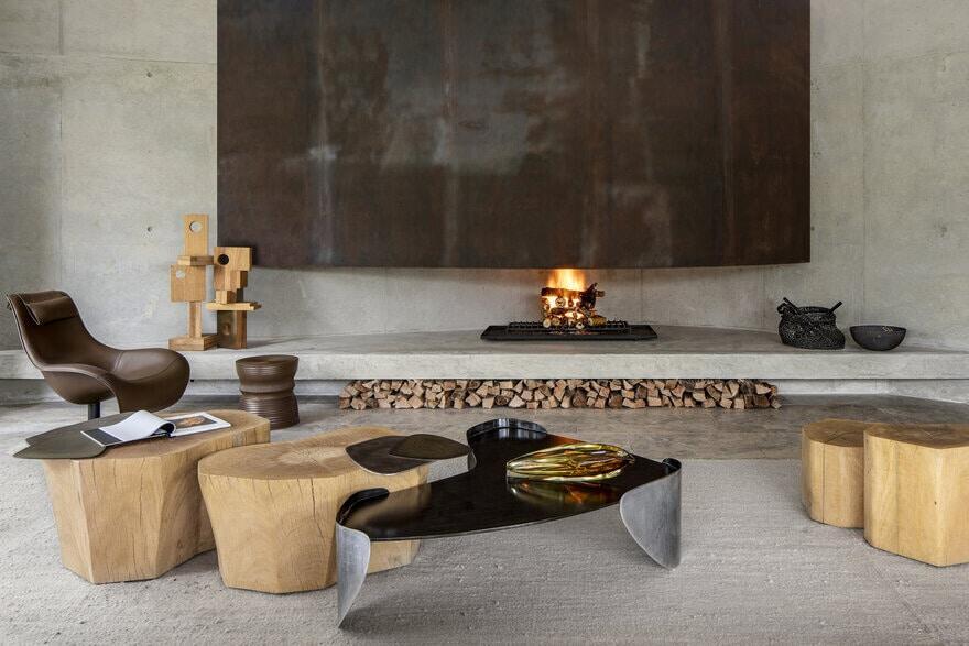 Laguna Coffee Table, from Cheetah Plains Luxury Safari Project