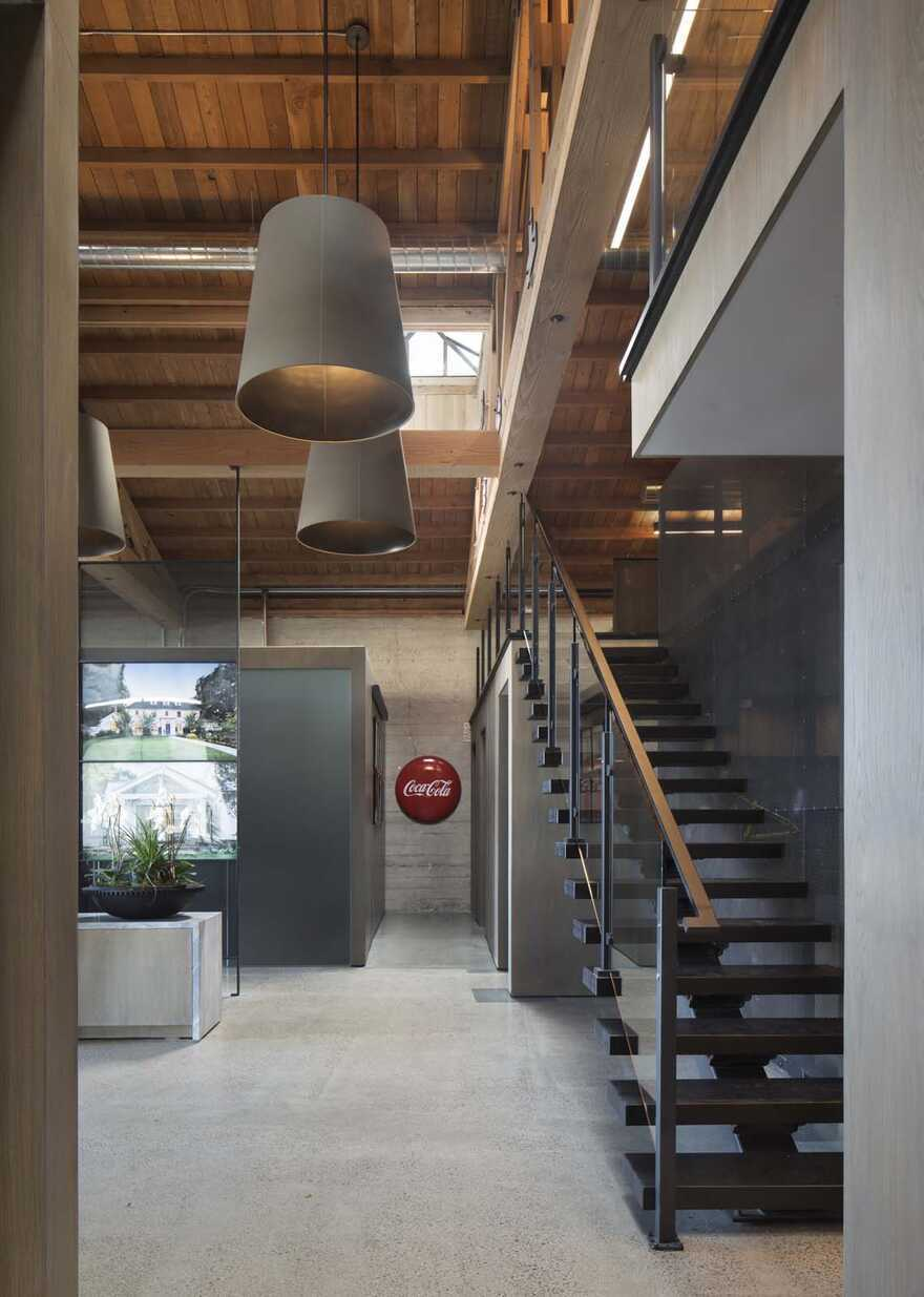 Feldman Architecture, San Carlos, California, office interiors