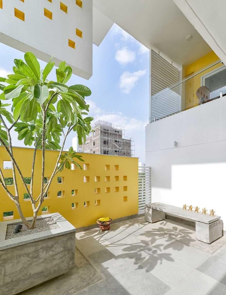 terrace, India / Spacefiction Studio