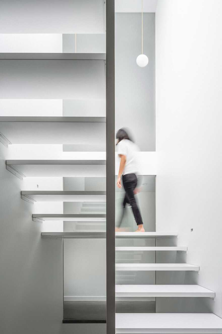 staircase, Montreal Naturehumaine Architects