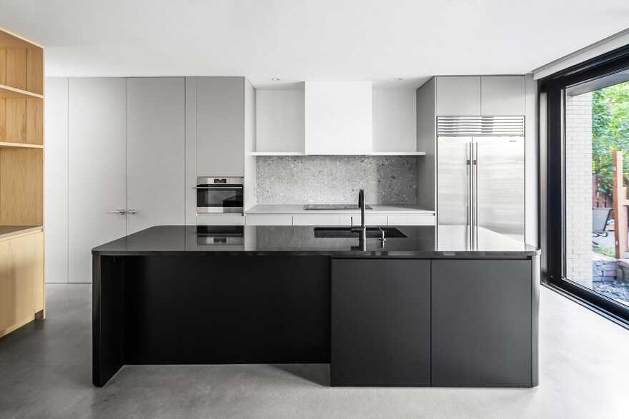 kitchen, Montreal Naturehumaine Architects